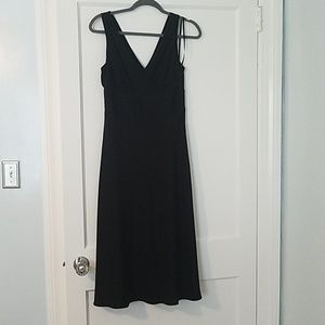 J. Crew Black Silk Cocktail Dress